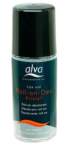 alva For Him miesten crystal deo roll-on