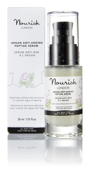 Nourish London Argan Anti-Ageing Peptide Serum