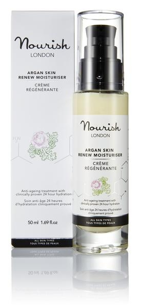 Nourish London Argan Skin Renew Moisturiser