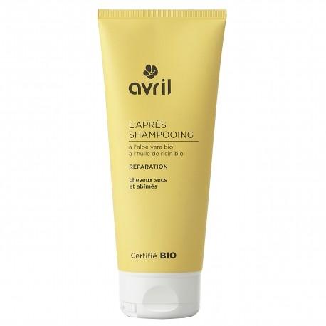 Avril korjaava hoitoaine kuiville ja vaurioutuneille hiuksille