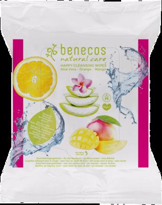 Benecos happy cleansing wipes - puhdistuspyyhkeet
