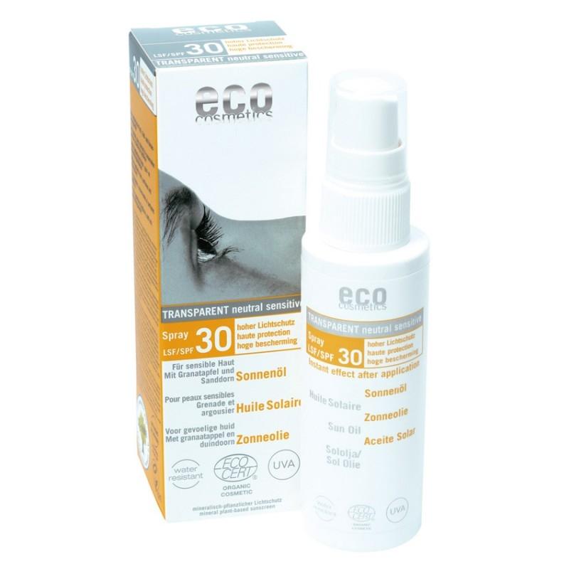 Eco Cosmetics aurinkoöljy (SK30)