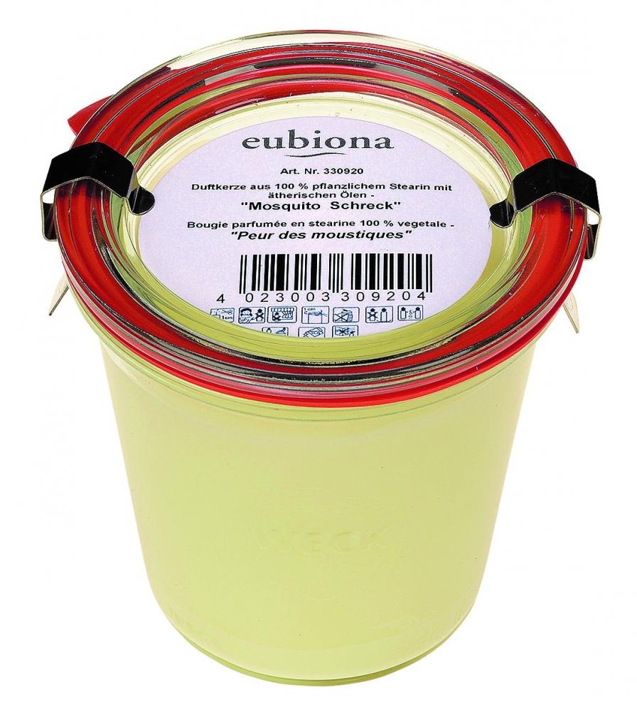 """Eubiona """"Kesäillan rauha"""" - luonnollinen tuoksukynttilä"""
