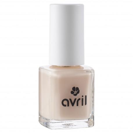 Avril 7-free hoitava & suojaava kynsilakka, natural nude