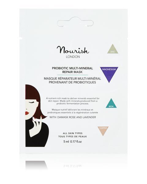 Nourish London Probiotic Multi-Mineral Repair Mask, 5 ml