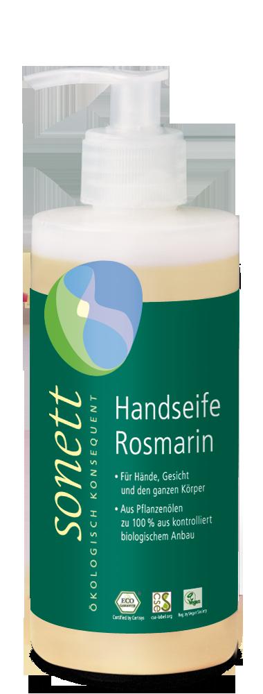 Sonett nestesaippua rosmariini, 300 ml