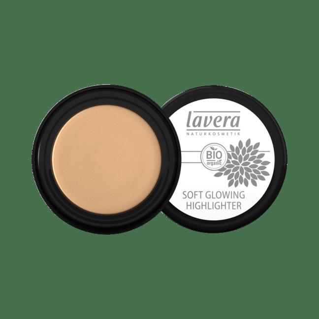 Lavera Soft Glowing Highlighter kasvohohde - Golden shine