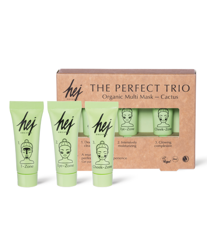 HEJ Organic The Perfect Trio Multi Mask