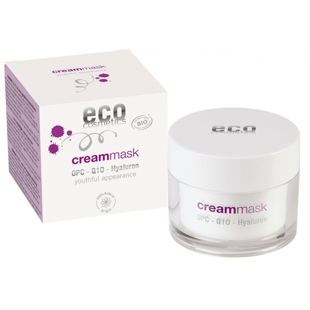 Eco Cosmetics anti-age kasvonaamio