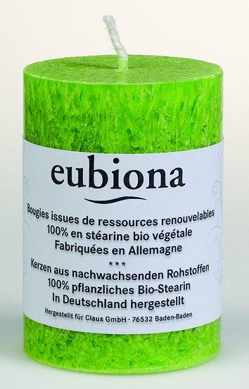 Eubiona pöytäkynttilä 56x80 vihreä