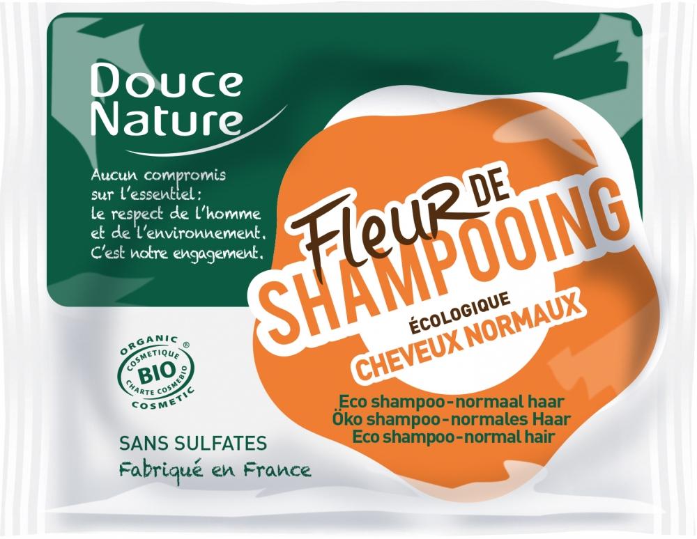 Douce Nature palashampoo normaaleille hiuksille