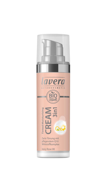 Lavera Tinted Moisturizing Cream Q10 - sävyttävä kasvovoide Ivory Rose 00