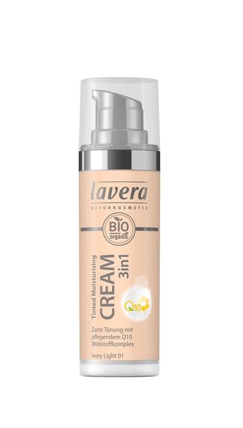 Lavera Tinted Moisturizing Cream Q10 - sävyttävä kasvovoide Ivory Light 01