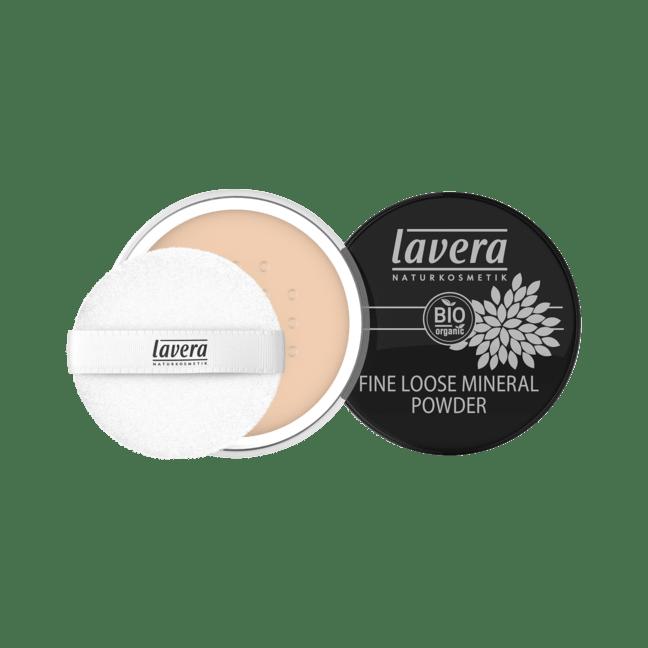 Lavera Fine Loose Mineral Powder irtopuuteri - Ivory 01
