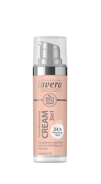 Lavera Tinted Moisturizing Cream - sävyttävä kasvovoide Ivory Rose 00