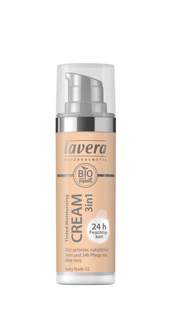 Lavera Tinted Moisturizing Cream - sävyttävä kasvovoide Ivory Nude 02