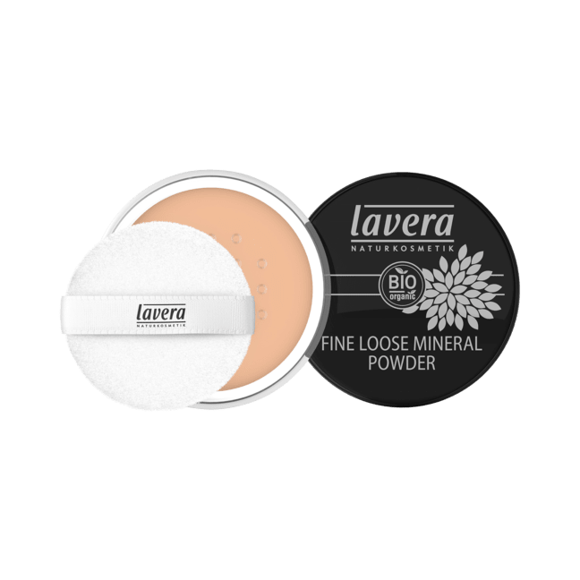 Lavera Fine Loose Mineral Powder irtopuuteri - Honey 03
