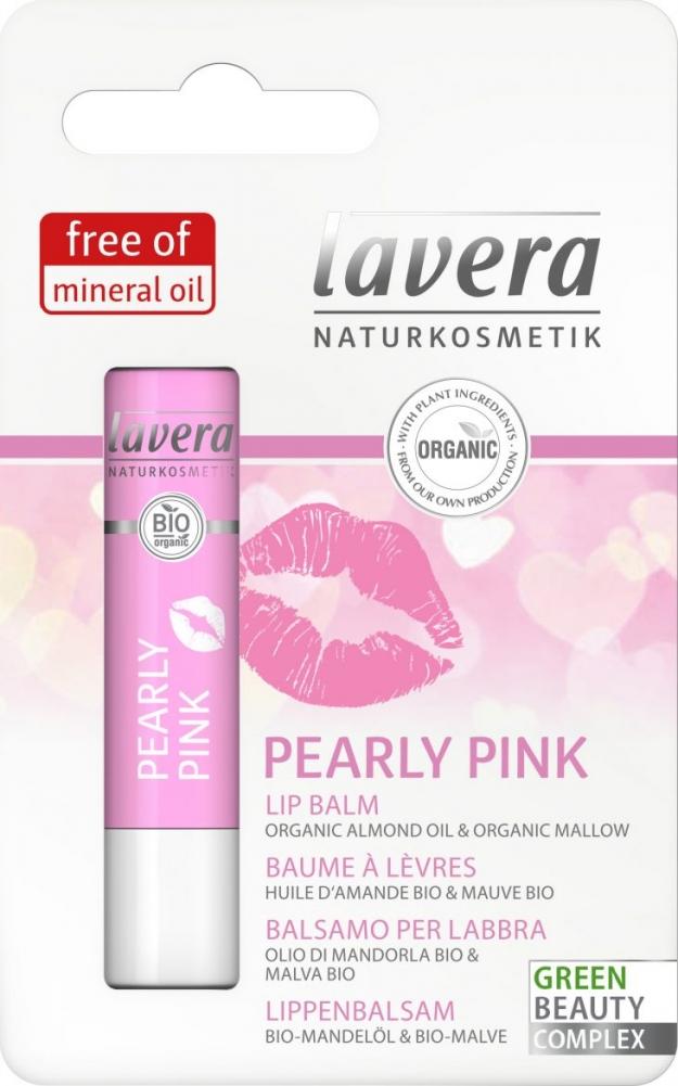 Lavera sävyttävä huulivoide Pearly Pink