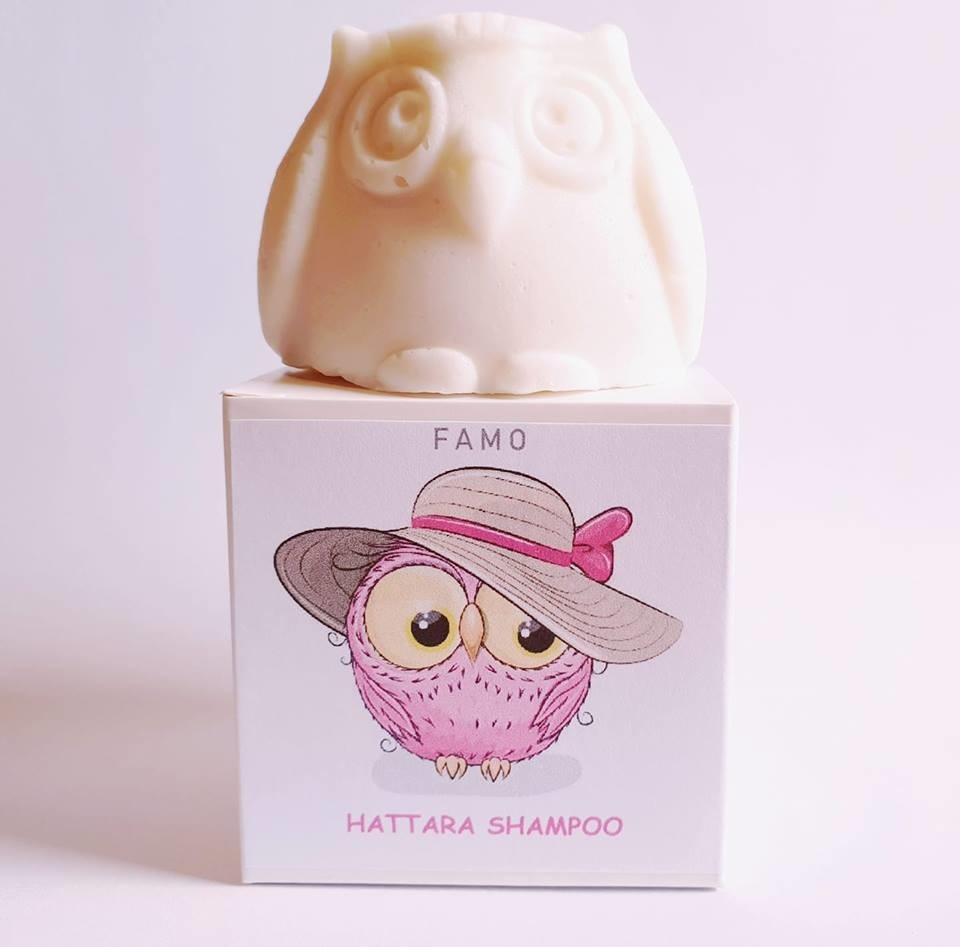 FAMO shampoopala tuoksuton Hattara, 80g
