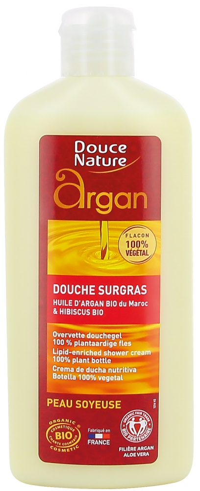 Douce Nature Argan suihkuemulsio