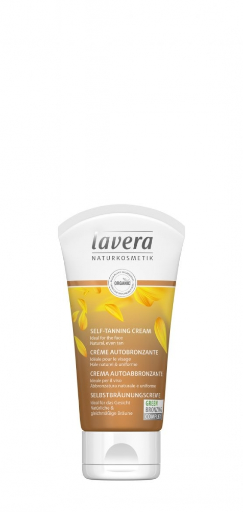 Lavera Self-tanner itseruskettava voide kasvoille, 50 ml