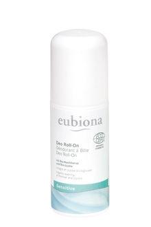 Eubiona Sensitive hajusteeton deodorantti roll-on