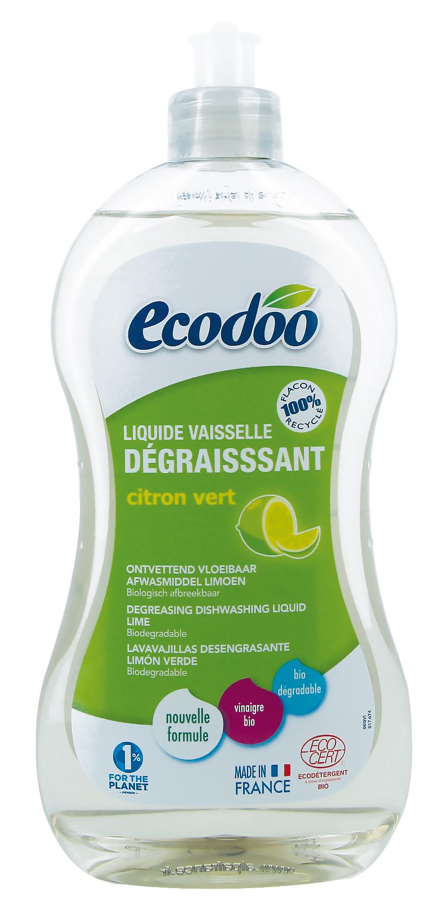 Ecodoo astianpesuaine rasvaa vastaan, lime