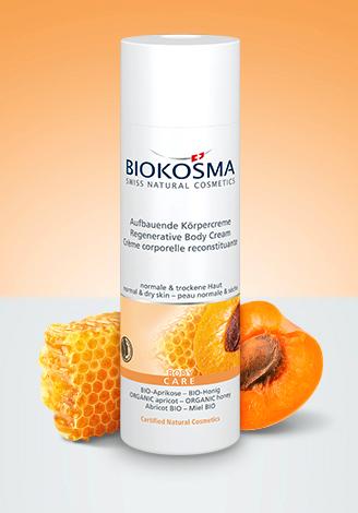 Biokosma vartalovoide aprikoosi & hunaja