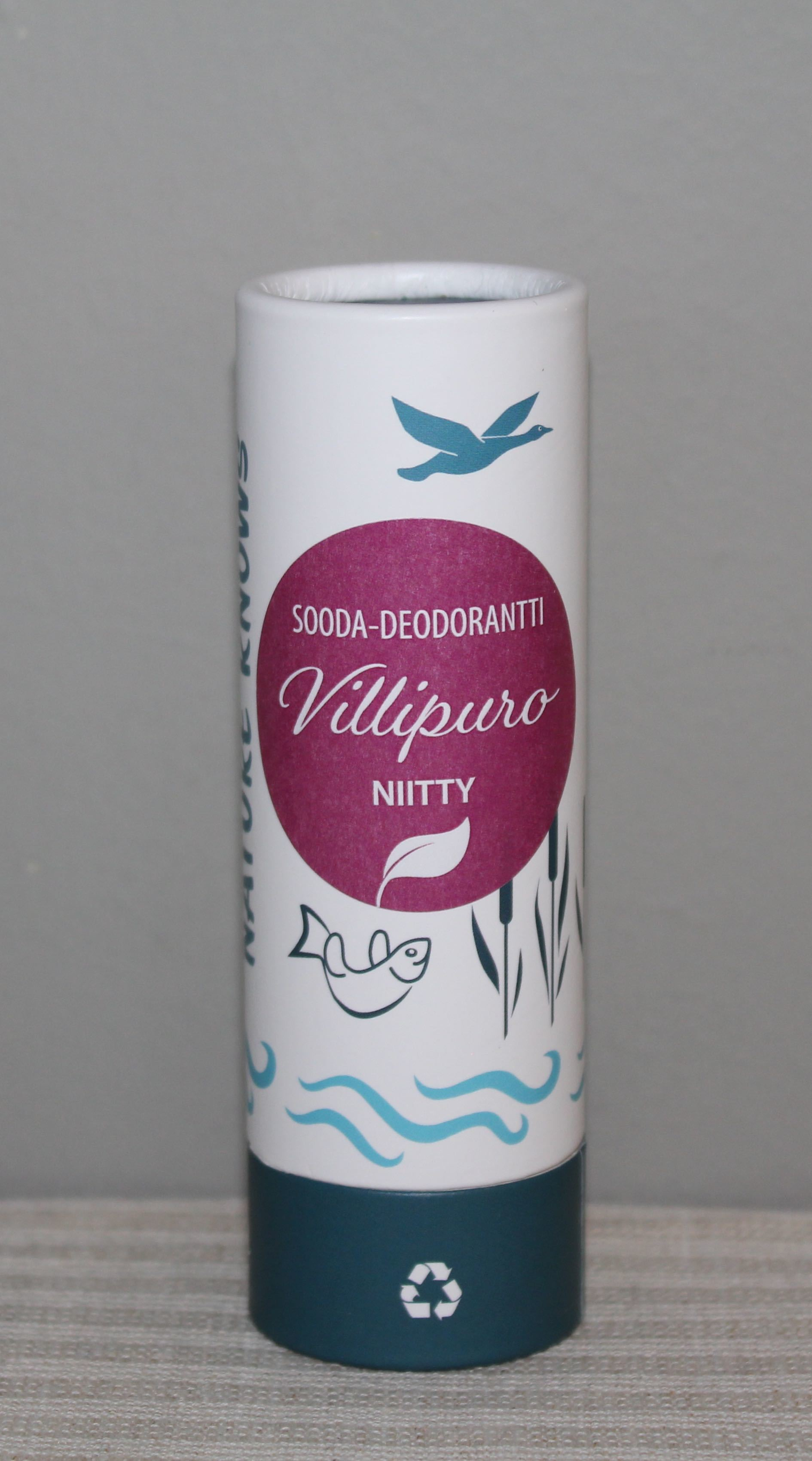 Villipuro NIITTY Sooda-deodorantti, 65g
