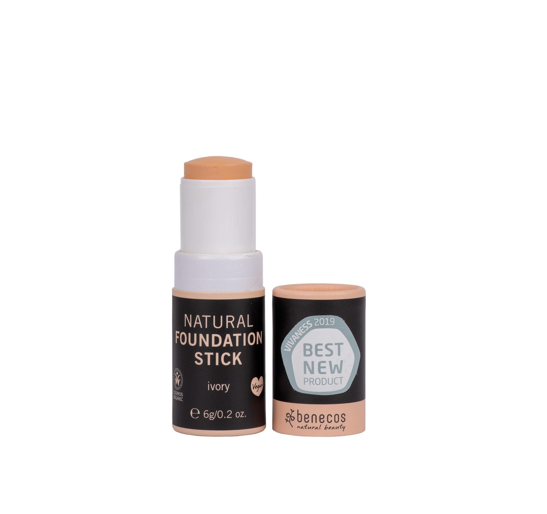 Benecos Natural meikkivoidepuikko Ivory