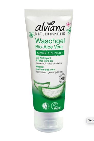 Alviana Aloe Vera 2in1 puhdistusgeeli, 125ml