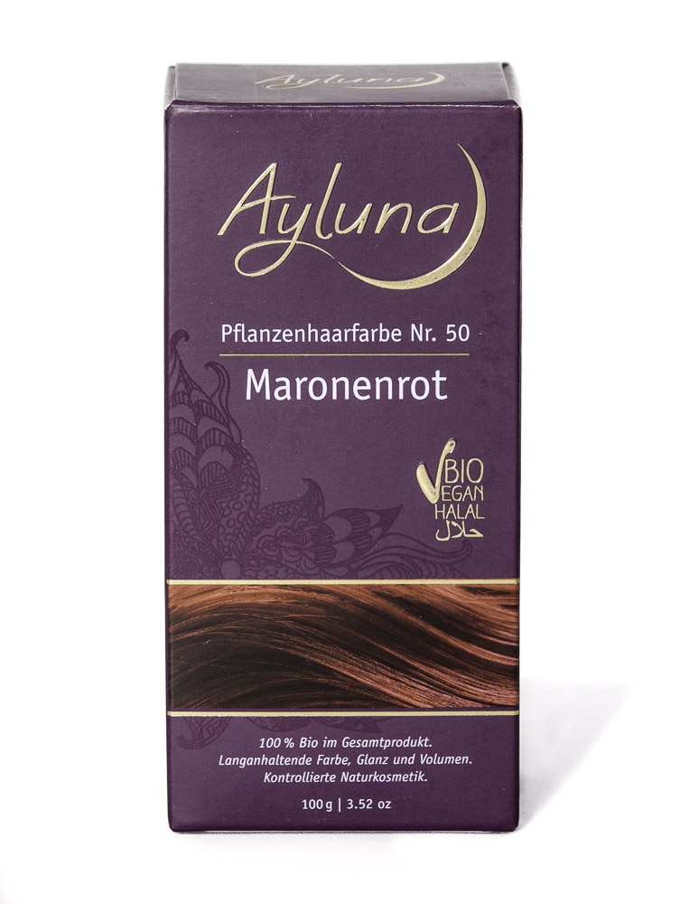 Ayluna hiusväri n°50 Kastanjanpunainen