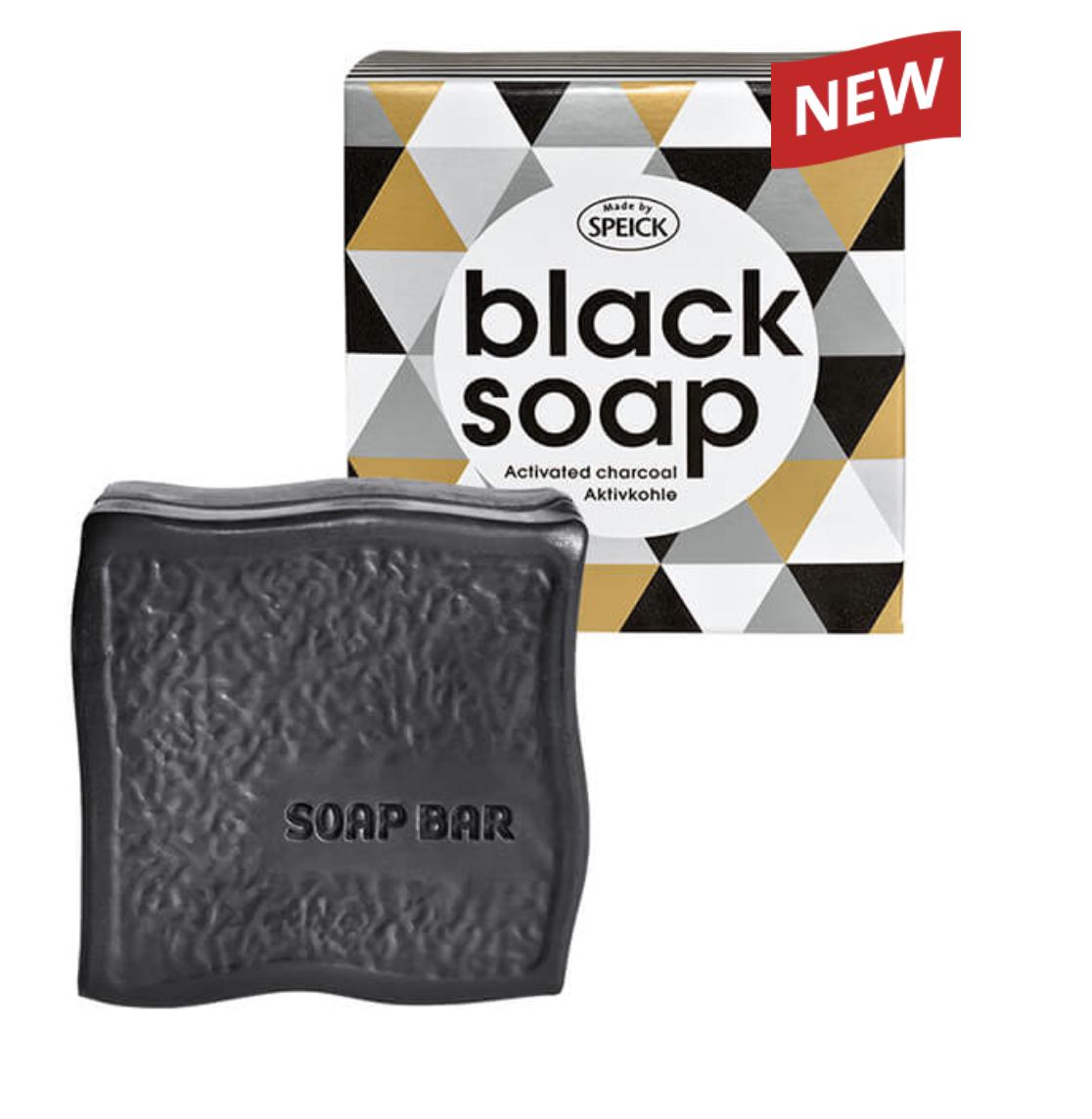 Speick Musta saippua sis. aktiivihiiltä
