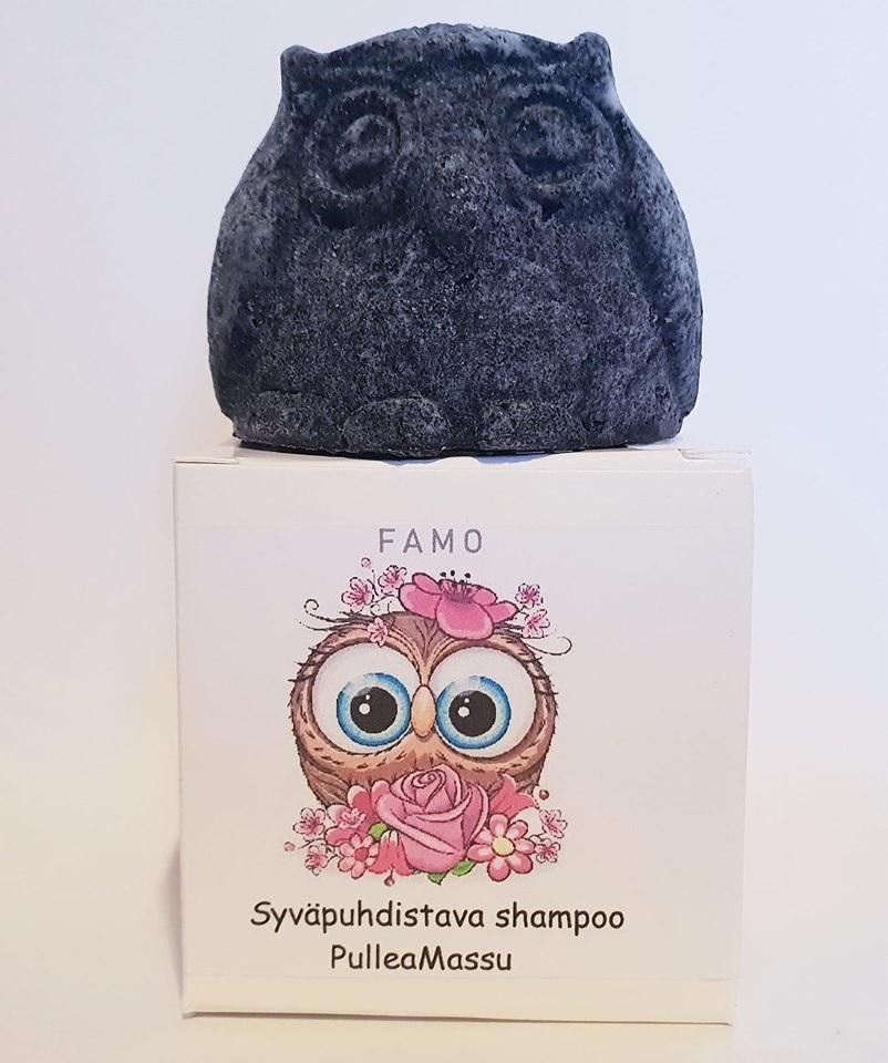 FAMO syväpuhdistava shampoopala Pullea Massu