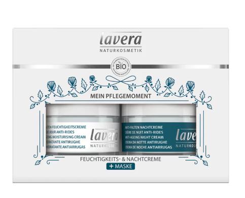 Lavera Basis Sensitiv Anti-Ageing Trio-lahjapakkaus
