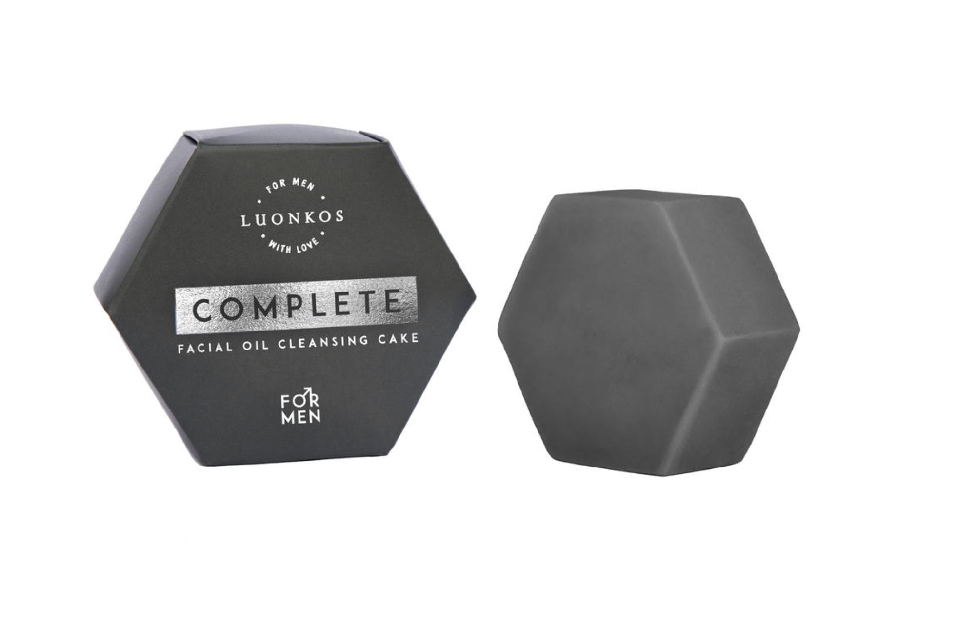 Luonkos Complete for men puhdistuskakku, 60ml