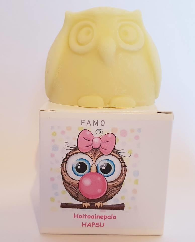 FAMO hoitoainepala Hapsu, 80g tuoksuton