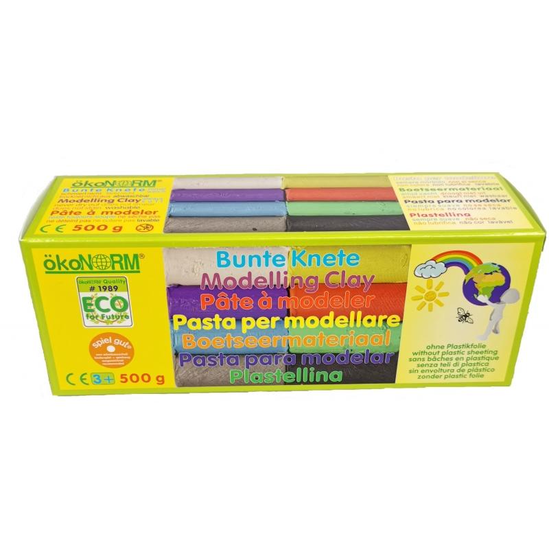 Ökonorm muovailuvaha 8 väriä