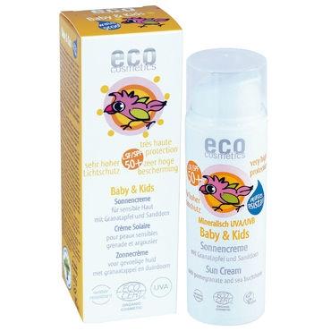Eco Cosmetics aurinkovoide vauvoille ja lapsille (SK50+)