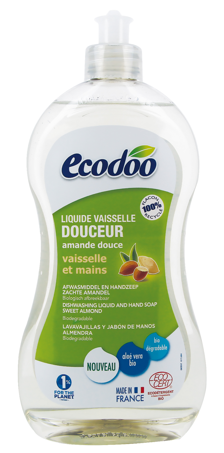 Ecodoo 2in1 astianpesuaine ja keittiösaippua