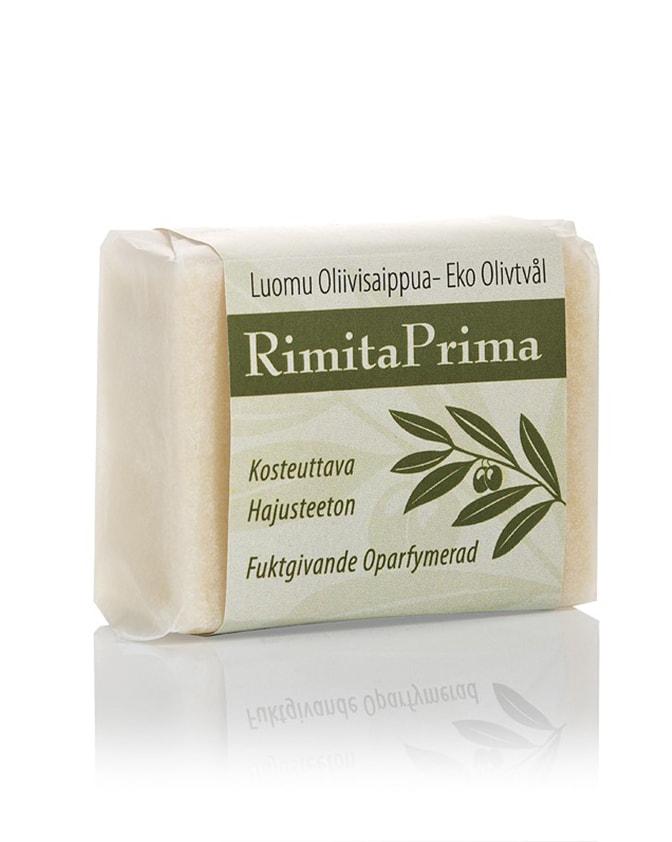 Rimita Green Prima luomusaippua Natural, 57 g