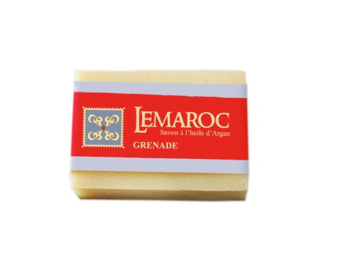 LeMaroc arganöljy palasaippua Granaattiomena