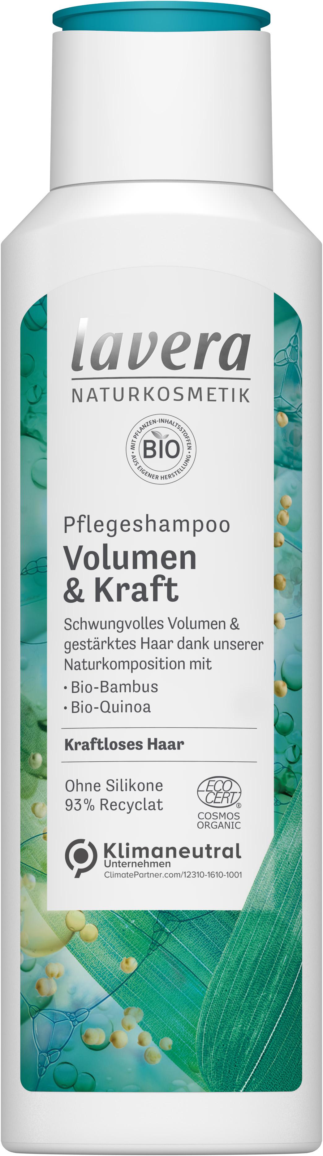 Lavera Volume & Strength shampoo