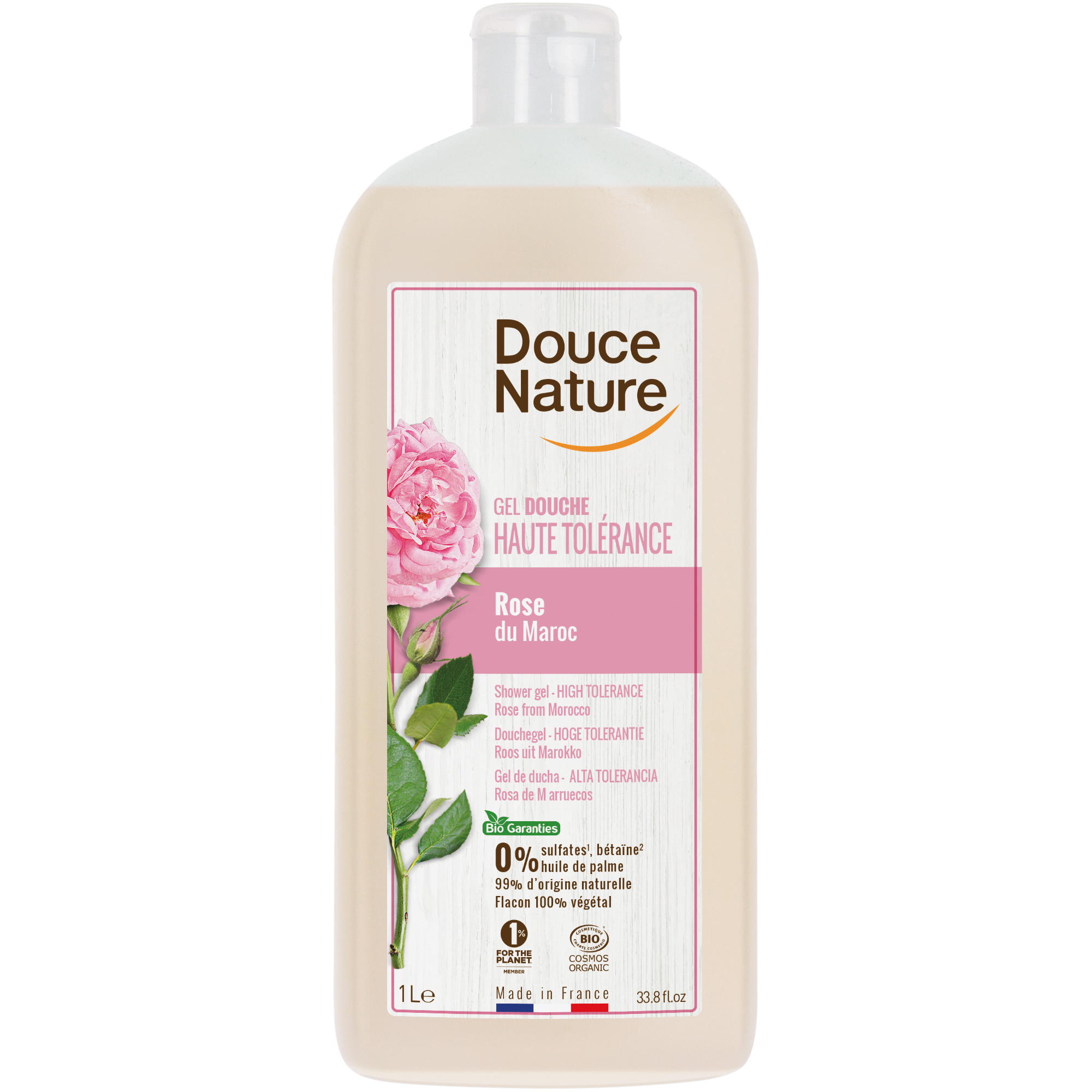 Douce Nature ruusu suihkugeeli
