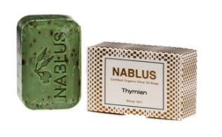 Nablus timjami oliiviöljysaippua