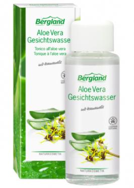 Bergland Aloe vera kasvovesi