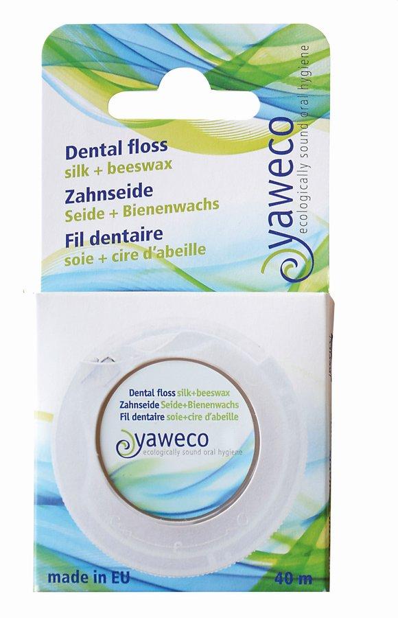 Yaweco hammaslanka silkistä ja mehiläisvahasta