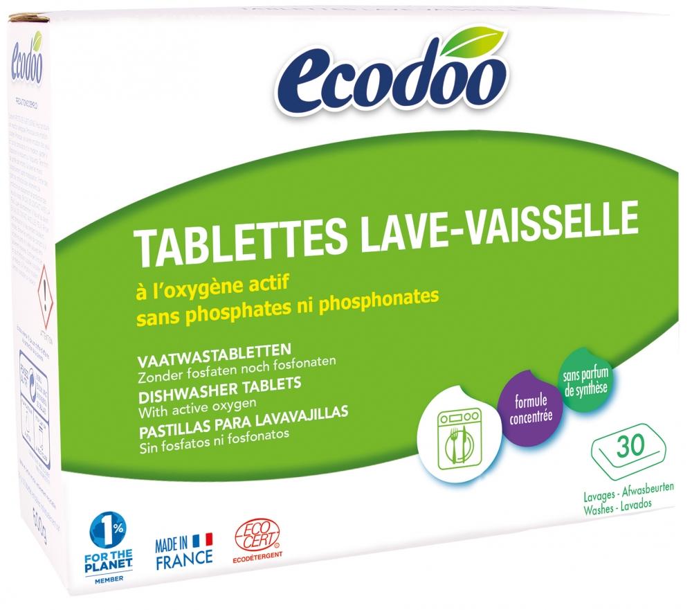SÄÄSTÖPAKKAUS! 12 x Ecodoo astianpesutabletit