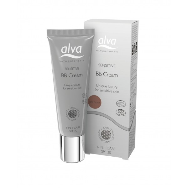 Alva Sensitiv BB-voide, Dark Brown