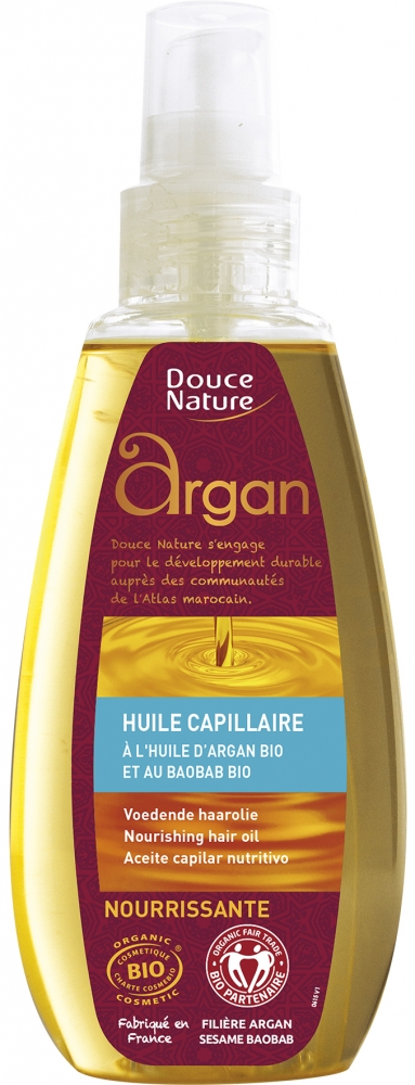 Douce Nature Argan hiusöljy